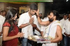 Anandhi and Atharva