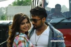 Suriya and Samantha