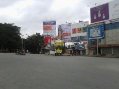 Bangalore Bandh empty road inYeshwanthpur July 31, 2014