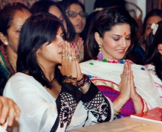 Ekta Kapoor and Sunny Leone