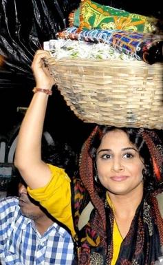 Vidya Balan at the Mahim Dargah
