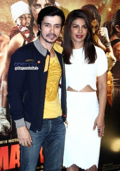 Darshan Kumar and  Priyanka Chopra
