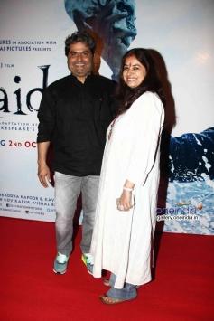Vishal Bhardwaj and Rekha Bhardwaj