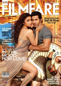 Humpty Sharma Ki Dulhania on Filmfare Coverpage