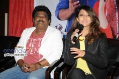 Jaggesh, Aindrita Ray at Melukote Manja Film Press Meet
