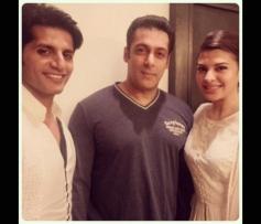 Karanvir Vohra, Salman Khan & Jacqueline Fernandez