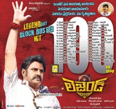 Legend 100 days Poster