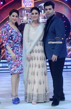 Madhuri Dixit, Kareena Kapoor, Karan Johar