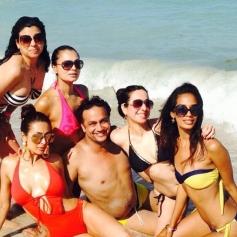 Malaika Arora Bikini and Private Holiday