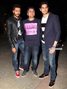 Mohit Suri, Riteish Deshmukh and