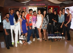 Parvathy Omanakuttan (centre white) with her friends