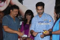 Ram Gopal Varma, Navdeep and Tejaswi Madivada