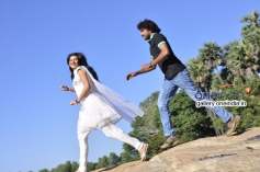 Rani and Balu in Kannada Movie Mestri