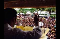 Salman Khan waves to his fans