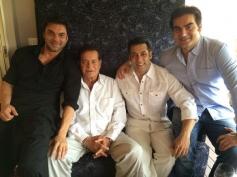 Sohail Khan, Salim Khan, Salman Khan & Arbaaz Khan