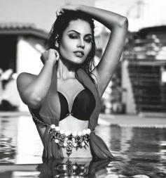 Srishti Rana In Bikini From Mandate Magazine