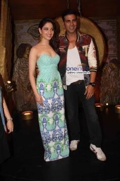 Tamannaah Bhatia and Akshay Kumar