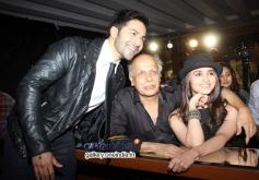 Varun Dhawan, Mahesh Bhatt and Aalia Bhatt