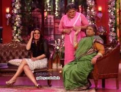 Kareena Kapoor, Ali Asgar and Kiku Sharda
