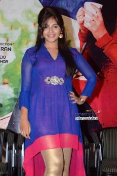 Anjali at Geethanjali Press Meet