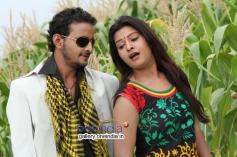 Jeeva and Soujanya in Kannada Movie Santhoshakke