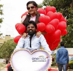 Nagshekar and Rakistha in Kannada Movie Cigarette