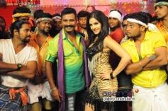 Prem and Sunny Leone in DK
