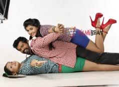 Rakistha, Nagshekar and Roopashree in Kannada Movie Cigarette