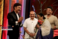 Ramesh Aravind, Puneeth Rajkumar, Parvathamma Rajkumar