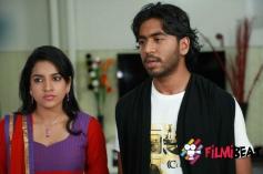 Adithi Rao and Anup Govindu in Kannada Movie Dove