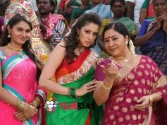 Lakshmi Rai, Andrea Jeremiah and Kovai Sarala