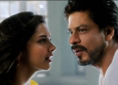 Deepika Padukone & Shahrukh Khan in Happy New Year