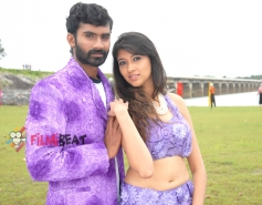 Yogesh and Akila Kishor in Kaala Bhairava