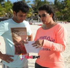 Adinath Kothare and Director Renu Desai