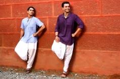 Siddharth and Prithviraj Sukumaran