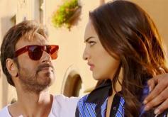 Ajay Devgan and Sonakshi Sinha in Action Jackson