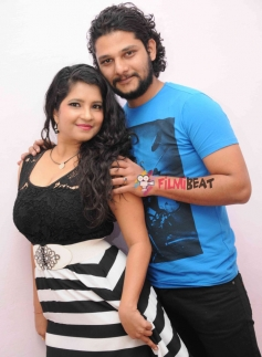 Rakesh Adiga and Shubha Poonja in Kotigond Love Story