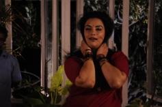 Shweta Menon still from Thunai Mudhalvar Movie