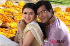 Hansika Motwani and  Vinay Rai