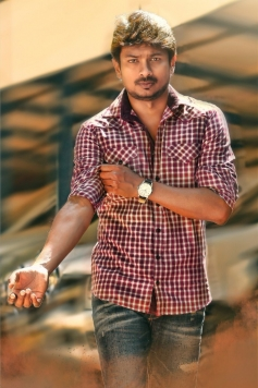 Udhayanidhi Stalin still from Nanbenda Movie
