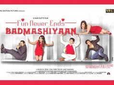 Badmashiyaan First Look Poster