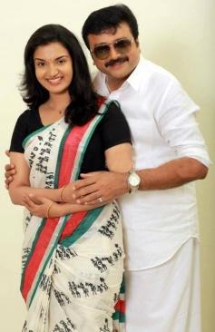 Honey Rose and Jayaram
