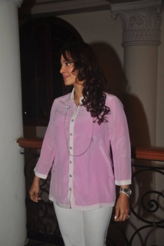 Juhi Chawla at The Curse of the Winswoods Book Launch
