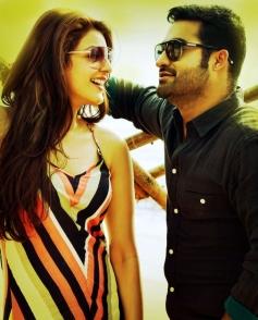 Kajal Aggarwal and Jr. Ntr