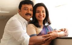 Jayaram and Honey Rose