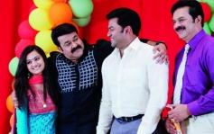 Varuna Shetty, Mohanlal, Indrajith, Devan