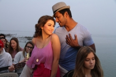 Vishal and Hansika Motwani