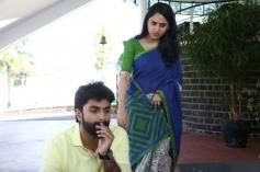 Govind Padmasurya and Mia George