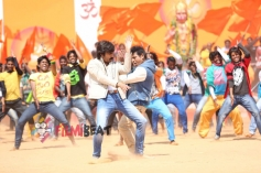 Ravi Teja And Shivarajkumar in Vajrakaya
