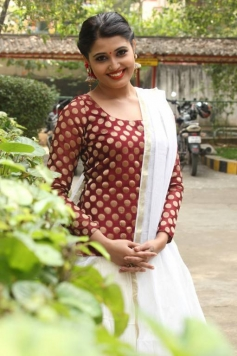Sandra Amy at Thoppi Movie Audio Launch